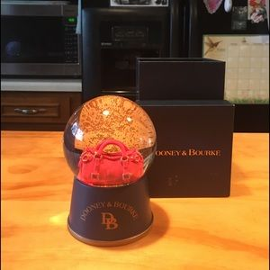 D&B Limited Edition Red Purse Globe with Box